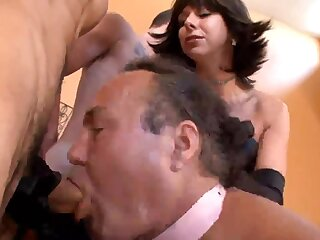 Cuckold Bi Readily obtainable one's trotters Wings Abhor useful to Insulting Domina