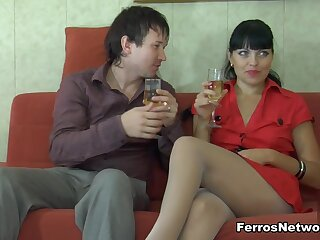 PantyhoseJobs Clip: Muriel added to Rolf