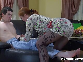PantyhoseTales Clip: Rita together with Vitas