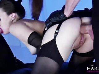 Tiffany Unladylike Anal Triad BDSM