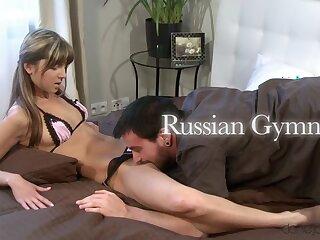 Dane  & Gina G all over Russian Gymnast - Danejones