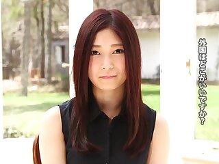 Haruka Kasumi yon Haruka Kasumi: Try out - TeensOfTokyo